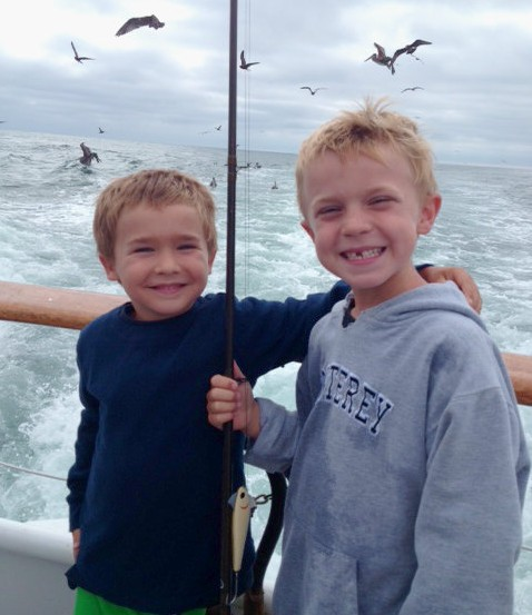 David Etnire's two sons, Carson and Connor.